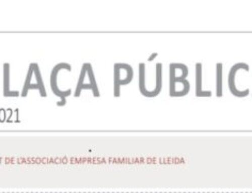 La Manyana «Plaça Pública» 26/09/2021, Marc Cerón, President AEFLleida «FEM 20 ANYS»